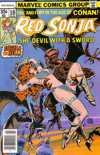 Red Sonja 10 Marvel DC Comic Book