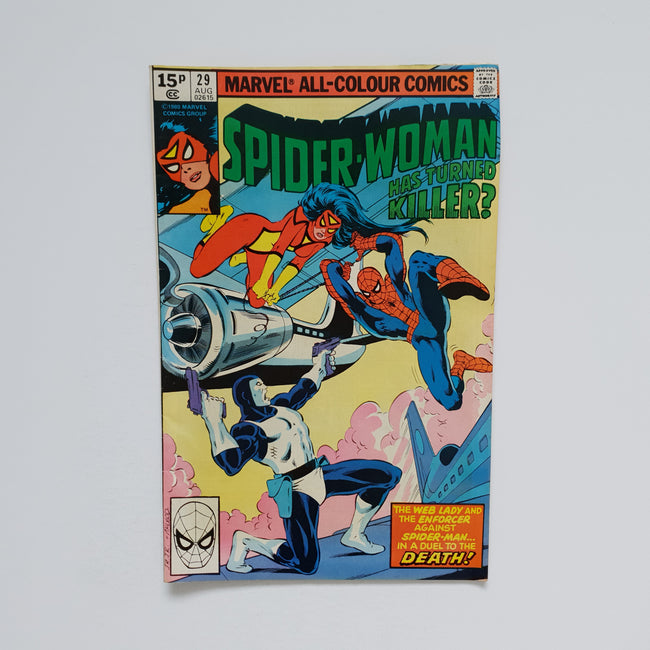 Spider Woman 29 Marvel DC Comic Book