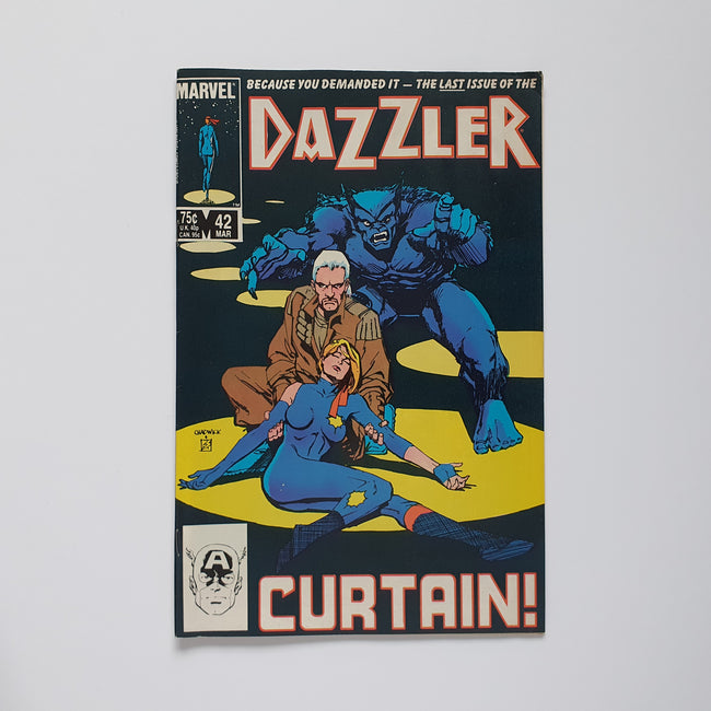 Dazzler 42 Marvel DC Comic Book