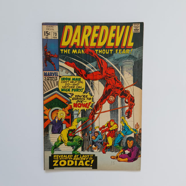 Daredevil 73 Marvel DC Comic Book