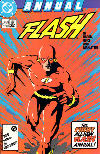 The Flash Annual 1 Marvel DC Comic Book