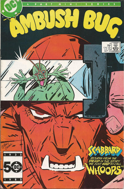 Ambush Bug 4 Marvel DC Comic Book
