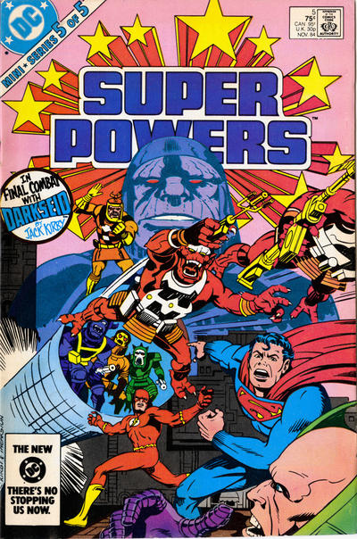 Super Powers 5 Marvel DC Comic Book