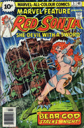 Marvel Feature Presents Red Sonja 5 Marvel DC Comic Book