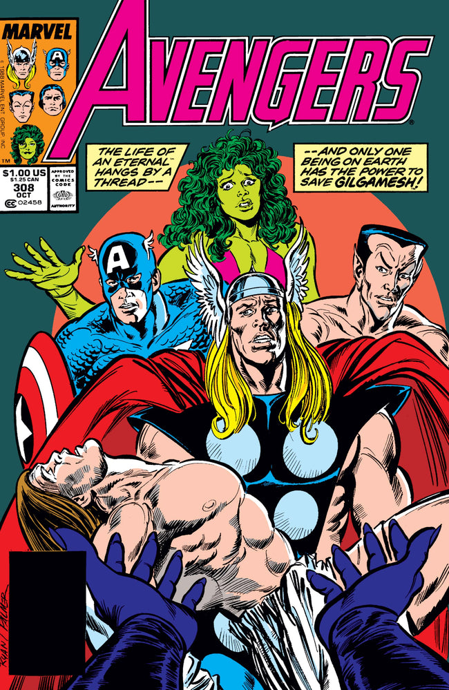 The Avengers 308 Marvel DC Comic Book