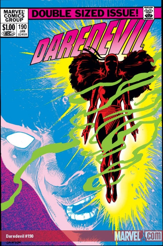Daredevil 190 Marvel DC Comic Book