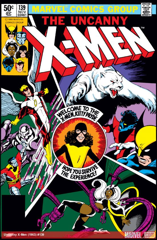 Uncanny X-Men 139 Marvel DC Comic Book