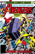 The Avengers 193 Marvel DC Comic Book