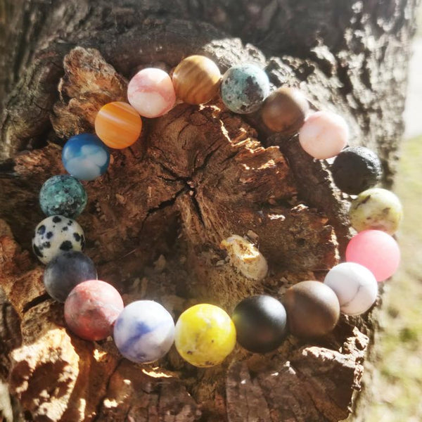 Planetary Healing Buddhist Bracelet for Women
