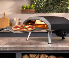 Introducing our new Propane gas-powered outdoor pizza oven