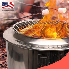 Load image into Gallery viewer, Elite Bon 2000 Dual Purpose Smokeless Bonfire / Grill