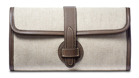 Adrian Clutch - Taupe