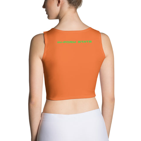 IFS Orange Crop Top w/ Logo