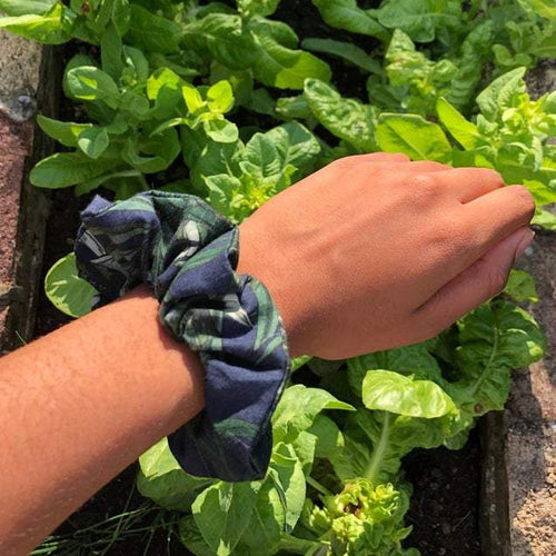 Jungle Print Scrunchie