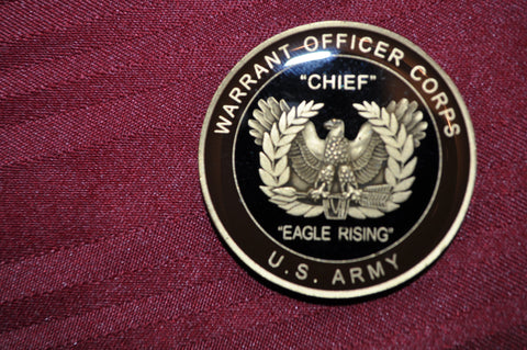 """CHIEF""  The WARRANT OFFICER CORPS Professional Coin (Large)"
