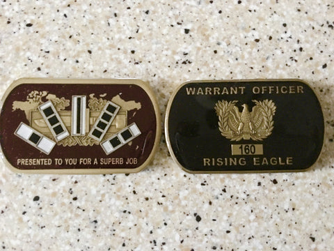 Warrant Officer Rising Eagle Coin (A minimum of 2 must be ordered)
