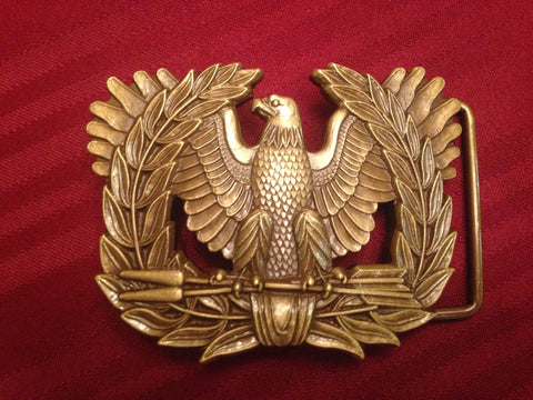 ORIGINAL WARRANT OFFICER BELT BUCKLE