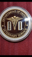 VET SERVICES COIN OF EXCELLENCE
