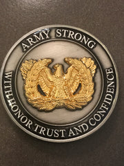 (Not Just For CW5s) U.S. ARMY WARRANT OFFICER COHORT COIN OF EXCELLENCE (A minimum of 2 coins has to be ordered.)