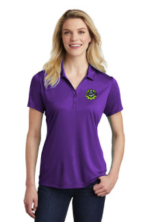 Ladies Polo with Hamilton left chest embroidery