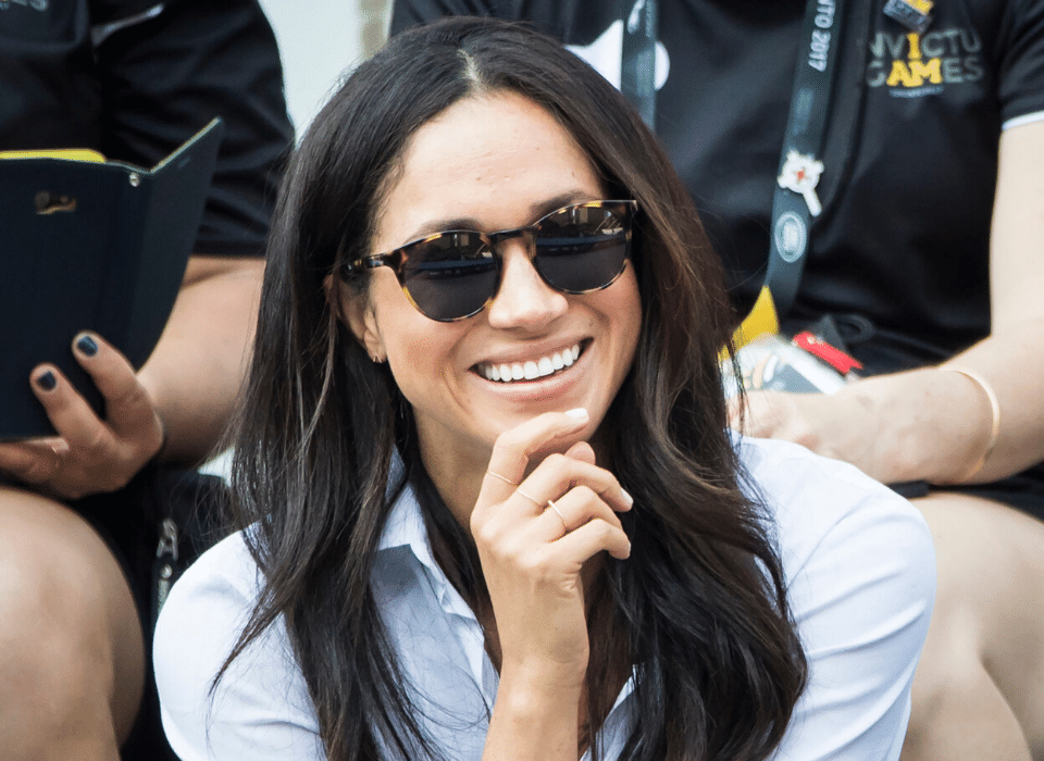 Meghan Markle wearing Percy sunglasses