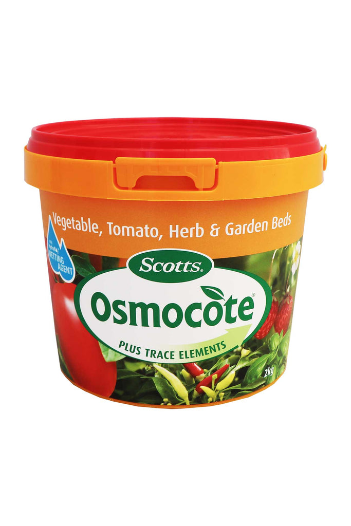 A 2kg Tub Of Scotts Osmocote - Vegetable, Tomato, Herb and Garden Beds