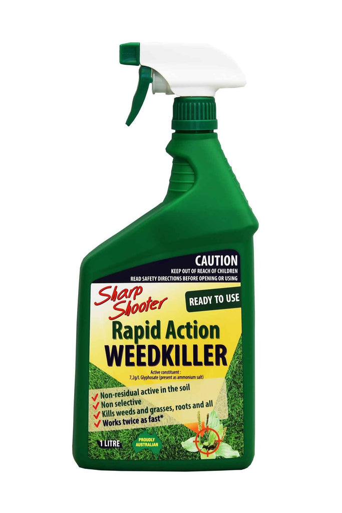 A Spray Bottle of Sharp Shooter Rapid Action WeedKiller - 1 Litre