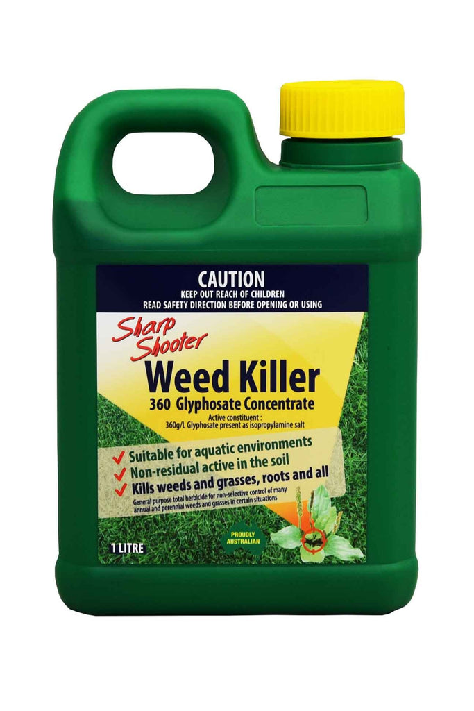 A Bottle Of Sharp Shooter Weed Killer - 1 Litre