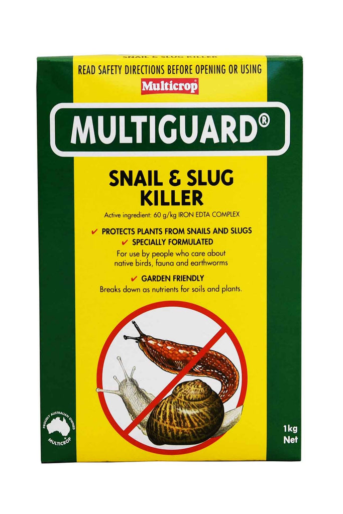 A Box of MultiGuard Snail & Slug Killer 1kg