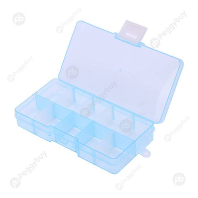 10 Grids Storage Box Detachable Jewelry Small components hardware Case
