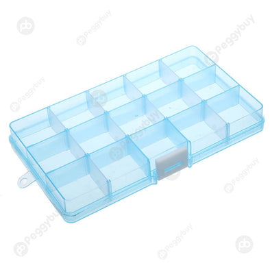 15 Grids Removable Plastic Storage Box