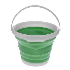 1pc Folding Painting Bucket (Green)