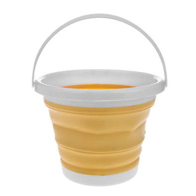 1pc Folding Painting Bucket (Yellow)