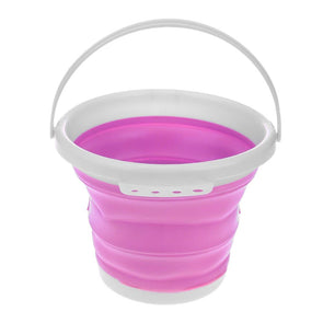 1pc Folding Painting Bucket (Pink)