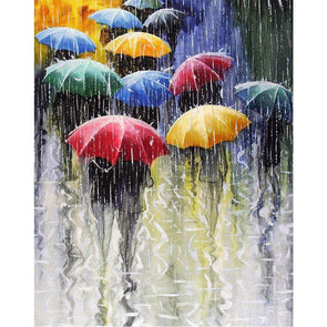 40x50cm - Paint By Numbers Umbrella