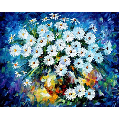 40*50CM Paint By Numbers-Flowers