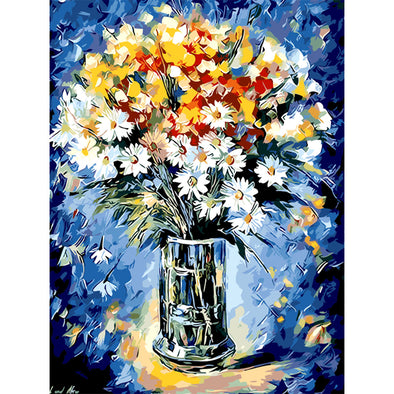 40*50CM Paint By Numbers-Color Flowers