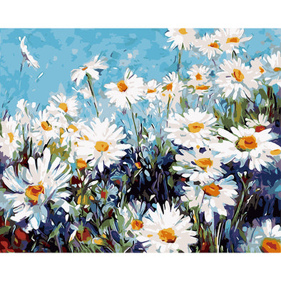 40*50CM Paint By Numbers-Chrysanthemum
