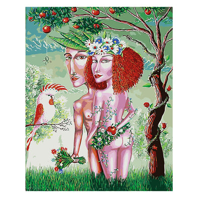 40*50CM Paint By Numbers-Adam and Eve