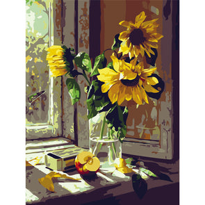 40*50CM Paint By Numbers-Sunflower