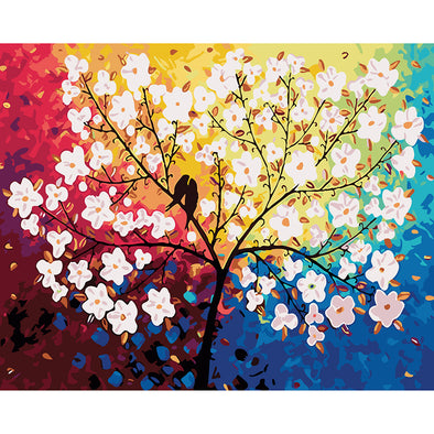 40*50CM Paint By Numbers-Flower Tree