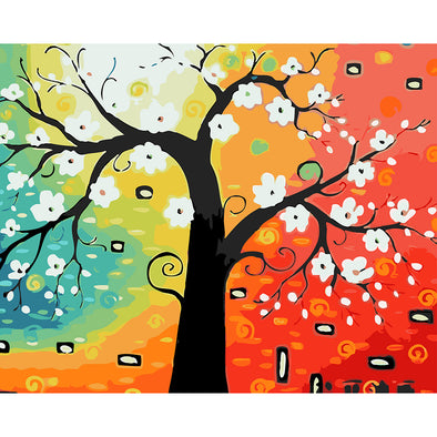 40*50CM Paint By Numbers-Fortune Tree