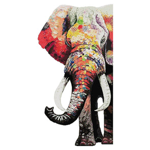Elephant - Cross Stitch - 49x90cm
