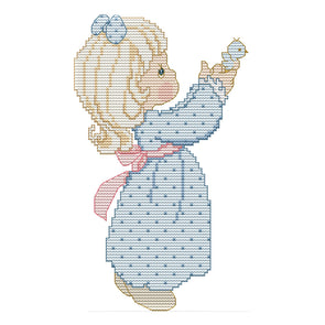 Release - 14CT Stamped Cross Stitch - 26*17cm