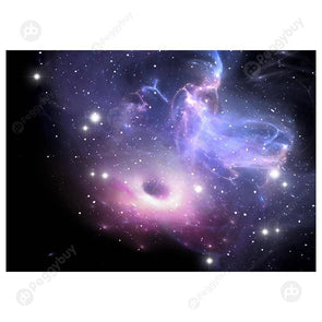 3D Universe Vortex Tapestry Photo Background Cloth Photography Backdrop (1)