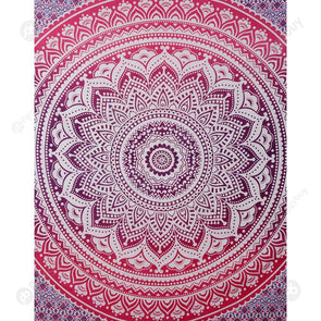 Boho Wall Tapestry Beach Towel Blanket Home Carpet (Mandala02)(150x130cm)