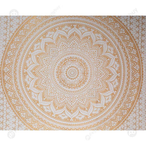 Boho Geometric Pattern Carpet Mat Sleeping Blanket Tapestry (L Mandala08)