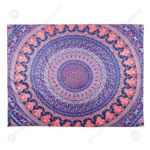 Geometric Printing Carpet Sleeping Blanket Tapestry (Mandala20 200x150cm)