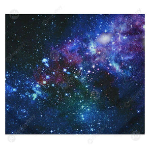 Starry Sky Hanging Tapestry Picnic Yoga Mat Home Wall Art Decor (Stars06 L)