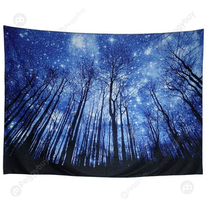 Hanging Tapestry Beach Picnic Yoga Mat Travel Carpet Home Decor (Sky03 L)